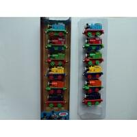 托马斯和朋友合金托马斯和他的朋友们小伙伴们小火车头套装磁性回力车金属玩具