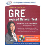 GRE: The Official Guide To The Revised General TestGRE官方考试指南美国研究生入学考试新GRE官方指南 英文原版