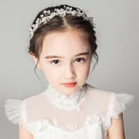 儿童头饰发箍水钻女孩饰品礼服配饰头花花童皇冠