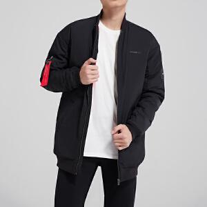 adidas阿迪达斯NEO男装V领保暖运动休闲羽绒服DU2395