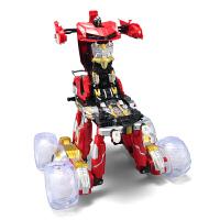 充电越野翻斗变形异形怪翻转特技车男童电动遥控车男孩儿童玩具车