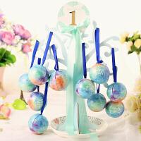 爱情树喜糖盒圆球形小号马口铁欧式结婚包装盒子婚礼糖果盒精灵球七夕D
