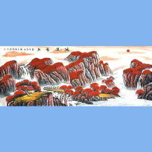 中国美协会员,中国书协会员,龙云书画院院长候桂峰(鸿运当头)3