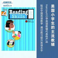 【现货】英文原版 Flash Kids 阅读技能 4年级 Reading Skills: Grade 4 (Flash