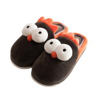 儿童棉拖鞋男童秋冬季女室内居家可爱fang滑小童幼儿宝宝小孩棉鞋子