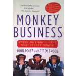 英文原版 华尔街的大马猴 Monkey Business: Swinging Through the Wall Str