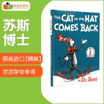 凯迪克 原装进口原版英文图书 Dr. Seuss 苏斯博士 The Cat in the Hat Comes Back