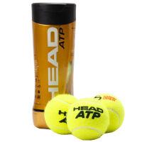 海德HEAD ATP比赛网球 黄金球胶罐3个装 比赛用球