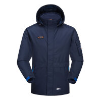TFO御寒防风保暖 防水透气 男款时尚两件套三合一可拆卸冲锋衣外套