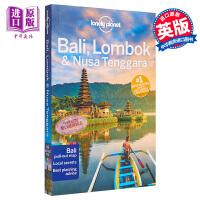 【中商原版】巴厘岛,龙目岛和努沙登加拉(第17版)英文原版 Lonely Planet Bali, Lombok &