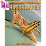 【中商海外直订】Grasshopper! An Educational Children's Book about G