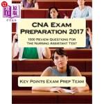 【中商海外直订】CNA Exam Preparation 2017: 1000 Review Questions Fo