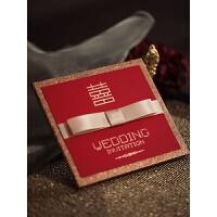 结婚请柬 创意高端 请帖结婚创意个性中式照片定制婚礼请柬中国风高端喜帖 BX