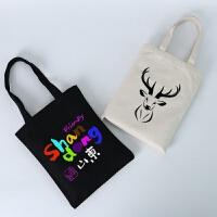 帆布包定制图案空白棉布环保手提袋印定做广告活动礼品 其他