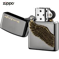 zippo芝��打火�C美��正版原�bZBT-1-2a�w的更高-黑冰