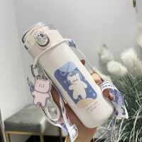 保温杯学生潮流ins风便携简约个性清新水杯创意小巧可爱少女杯子