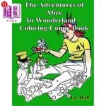 【中商海外直订】The Adventures of Alice In Wonderland - Coloring Co