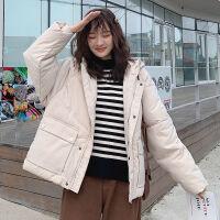 面包服学生棉袄2019韩版宽松棉衣女短款原宿风冬季外套潮 S (建议80-100斤)