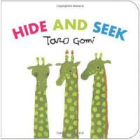 Hide and Seek 找找看(五味太郎)ISBN9781452108407