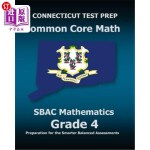 【中商海外直订】Connecticut Test Prep Common Core Math Sbac Mathema