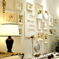 欧式客厅照片墙创意相框墙组合实木餐厅卧室相挂墙背景墙装饰