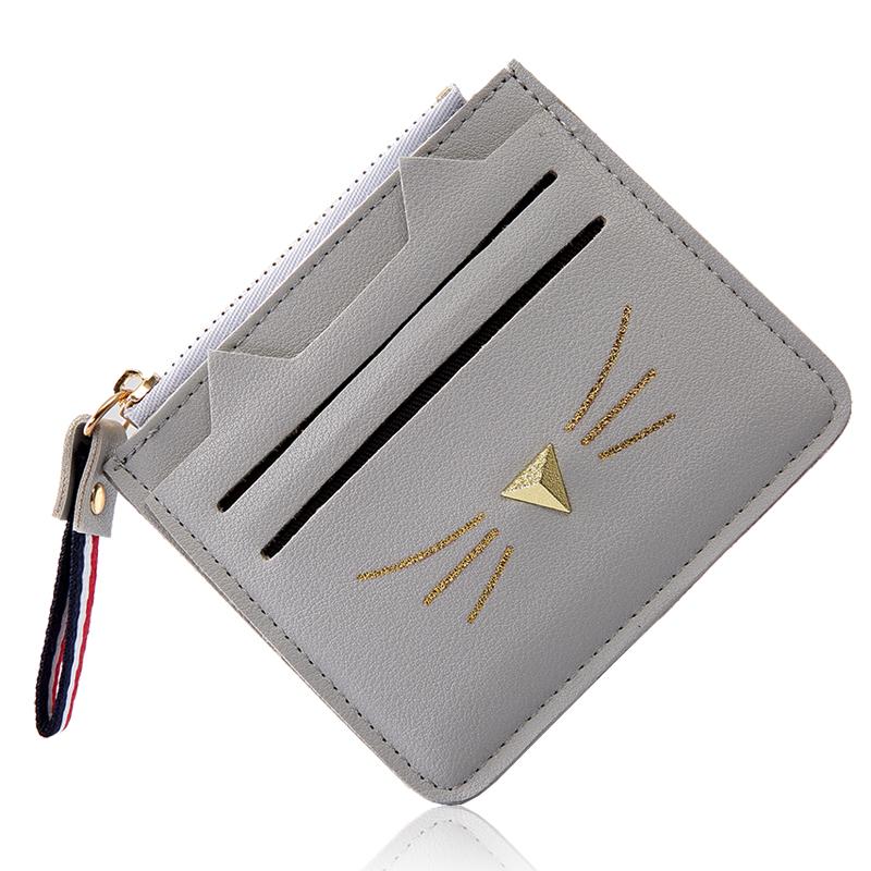 软妹零钱包袋女式韩国可爱迷你简约个性卡包硬币包小方包钱包 气质灰 发货周期:一般在付款后2-90天左右发货,具体发货时间请以与客服协商的时间为准
