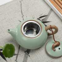 汝�G茶�� �^�V�W�饶� 可�B�_片汝瓷 陶瓷小�泡茶器功夫茶具���
