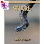 【中商海外直订】Snake: Children's Book of Amazing Photos and Fun Fa
