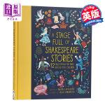 【中商原版】充满莎士比亚故事的舞台 A Stage Full of Shakespeare Stories 儿童文学