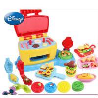 迪士尼3d彩泥橡皮泥无毒粘土 大厨机模具工具套装 男女孩DIY玩具