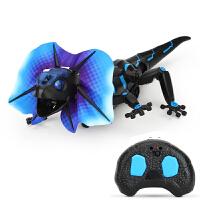 遥控蜥蜴玩具仿真模型吓人电动蛇创意礼物整蛊玩具遥控蛇恶搞声控