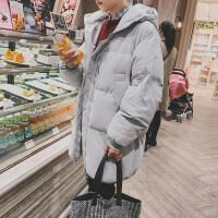 棉衣男士外套中长款棉服韩版潮流冬季面包服加厚棉袄男新款