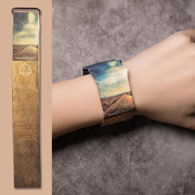 纸手表防水男黑科技智能手表新型创意抖音电子表女