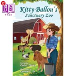 【中商海外直订】Kitty Ballou's Sanctuary Zoo: Color Illustration Ed