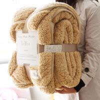 毛毯被子加厚冬季单双人学生毯子双层双面沙发盖毯