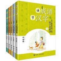 汉字姐姐给汉字的成语汉字书 全5册 自然篇人物篇动作篇地理篇概念篇 7-12岁儿童传统文化成语汉字书