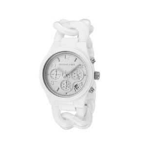 陶瓷女表 Michael Kors迈克科尔斯 新款MK5387 白色手链款式石英表 MK手表 现货