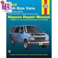 【中商海外直订】Ford Full-Size Vans 1992 Thru 2014 E-150 Thru E-350