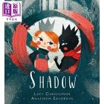 【中商原版】Anastasia Suvorova:影子 Shadow 亲子绘本 故事书 低幼童书 战胜恐惧 黑暗中的探