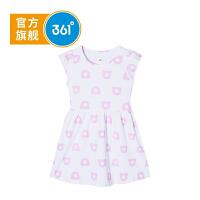 361度童装 儿童女童连衣裙2021年夏季新品连衣裙K61924494