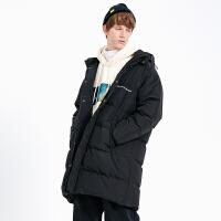 2.5折价:316;Lilbetter羽绒服男中长款冬季外套轻薄面包服潮流防寒服羽绒衣潮