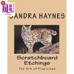 【中商海外直订】Scratchboard Etchings: The Art of Fine Lines