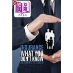 【中商海外直订】Insurance What You Don't Know