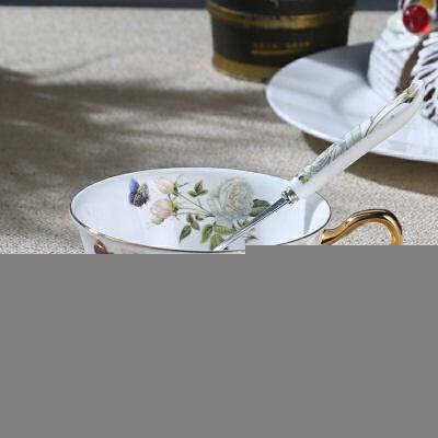 骨瓷咖啡杯碟欧式咖啡杯具套装英式下午茶杯可  101-200ml 【实惠好货】品质媲美:旗舰店厂家直发+商品+新品特惠+品质保证+破损补寄+七天无