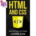 【中商海外直订】HTML and CSS: Learn HTML and CSS in 2 Hours