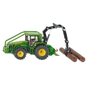 [当当自营]siku 德国仕高 1:50 约翰迪尔林业拖拉机 合金车模玩具 U1974