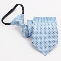 20180823001217807长城哈弗汽车4s店男士领带 拉链工装女士销售丝巾 定制 拉链款 易拉得
