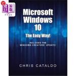 【中商海外直订】Microsoft Windows 10: The Easy Way!