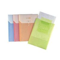 树德文件袋S218 试卷袋双袋资料袋 A4韩版收纳袋*袋