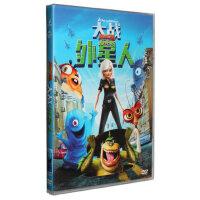 正版卡通电影 动画片 大战外星人DVD DVD9 派拉蒙 附精彩花絮